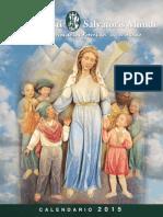 Calendario Misionero 2015 de los MSPTM