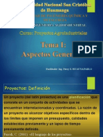 I. Introducción a Proyectos - II