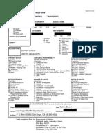BCIA Form