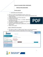 Manual Prosick - Perfil Prestadores