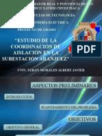 ESTUDIO DE LA COORDINACIÓN DE AISLACIÓN EN LA SUBESTACIÓN ARANJUEZ