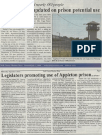 County board updated on potential prison use