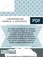 Contaminación Química y Biológica 2