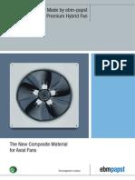 HyBlade Axial Fans Premium Hybrid Fan En