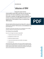 The Five Fallacies of BIM