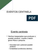 Eventos Centinela