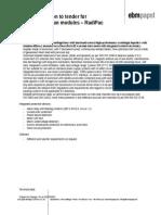 Tender Specifications RadiPac 250-1250 En