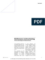 Rothmans Restructuring Practicallawdotcom 1993