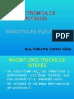 Magnitudes Eléctricas