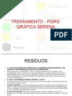 Treinamento - PGRS