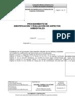 Ant0 001 Identificacion y Evaluacion de Aspectos Ambientales Rev03
