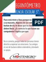 Preguntometro 3º 2015