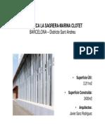 BARCELONA SANT ANDREU-Biblioteca La Sagrera- Marina Clotet