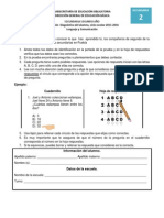 SECUNDARIA  2° GRADO 2015-2016