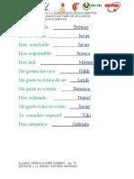 Practica 10; Los Autografos