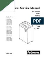 Fellows Shreddar Manual