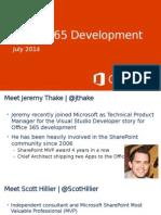 Introduccion Desarrollo Office 365