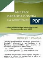 Amparo. Garantía Contra La Arbitrariedad - Guatemala .