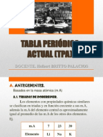 8) Tabla Periódica Actual (Tpa) 5to