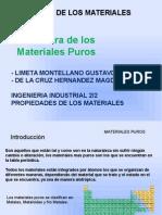 MATERIALES PUROS