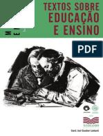 Marx, Engels Textos Sobre Educação e Ensino