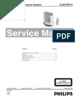 Philips Aj301db-12 Docking Entertainment System Sm
