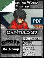 Konjiki No Word Master Capitulo 27