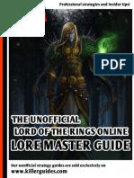 Lore Master Guide