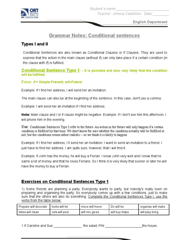 Notes on conditional sentences semantic units semantics stopboris Gallery