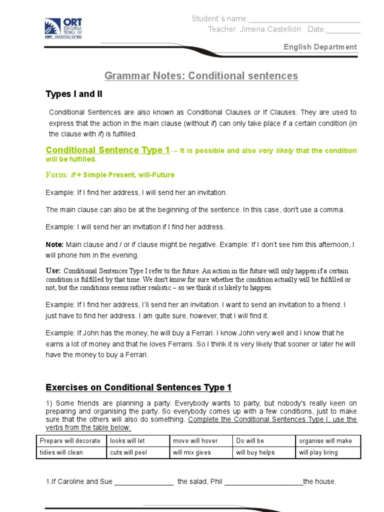 Notes on conditional sentences semantic units semantics stopboris Image collections