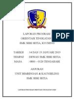 Laporan Program Orientasi t4 2015