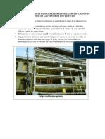 Falla en Columnas de Pisos Superiores Por La Amplificación de Los Desplazamientos en La Cúspide de Los Edificios