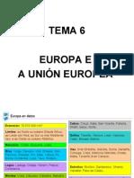 Tema 6 Europa e a UniÓn Europea