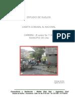 Estudio Caseta Comunal El Nacional Mpio Cali