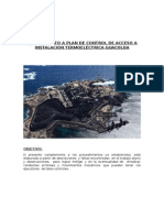 Complemento a Plan de Control de Acceso a Instalaciòn Termoelectrica Guacolda