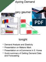 Week 4 Demand Analysis
