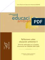 Reflexiones Educacion Ambiental Carpeta Ceneam Tcm7 13563
