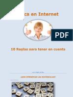 10 Reglas en Internet