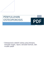 Kegiatan KPKM Penyuluhan Osteoporosis