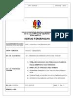 KERTAS PENERANGAN WTP 201 Pemasangan Kerangka Pintu Dan Tingkap K1K2