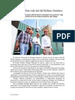 07.10.2013 Comunicado Amplía Esteban Vida Útil Del Relleno Sanitario