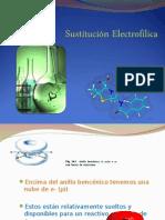 Sustitucion electrófilica
