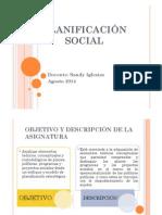 Planificación Social