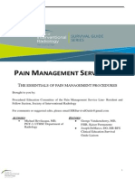 Embolization of Intraosseous AVM - SIR Pain Survival Guide