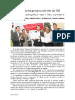 09.10.2013 Comunicado Propuesta de Obra PRI