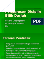 Pengurusan Disiplin Bilik Darjah