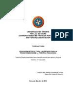 Tesis Educacion Intercultura Doctorado