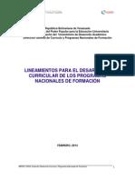 Lineamiento Para El Desarrollo Curricular PNF (1)