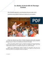 11.10.2013 Comunicado Comerciantes Aliados Para El Desarrollo de Durango Esteban
