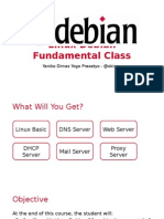 Linux Debian Fundamental Class